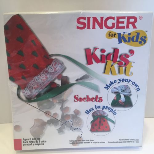 Singer sewing for Kid's Kit - Make your own Sachets, ages 8 and up