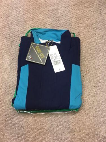 Defini Men's XL Gore-Tex Two-Tone Rain Jacket
