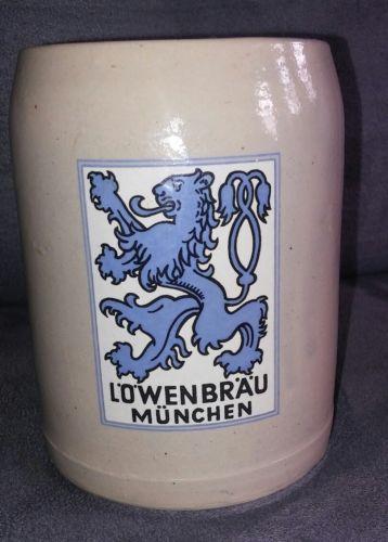 LOWENBRAU MUNCHEN VINTAGE BEER MUG
