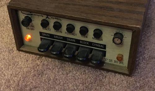 WURLITZER SWINGIN' RHYTHM 5020 Organ Drum Machine