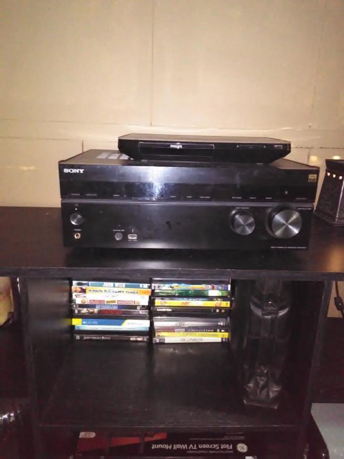 Sony STR STR-DH550 5.2 Channel 145 Watt Receiver + Panasonic  Sub Woofer
