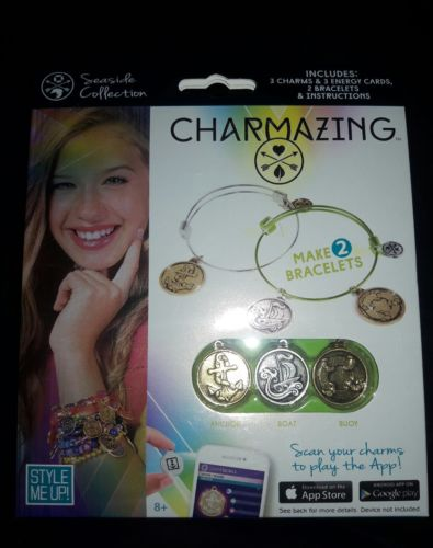 Charmazing Seaside Collection girls bracelets bangles charms interactive phone