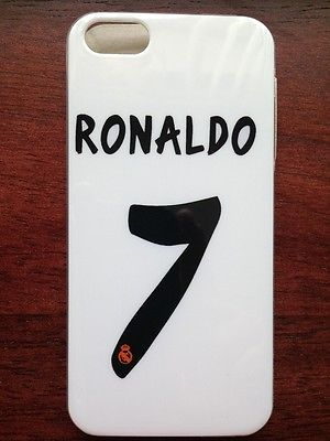 SOCCER RONALDO REAL MADRID JERSEY THEME HARD CASE COVER FOR APPLE IPHONE 4 4S 4G