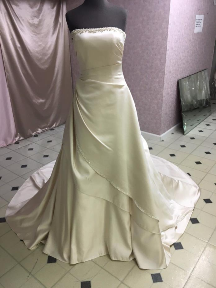 Maggie Sottero Discontinued (champagne) Bridal Gown