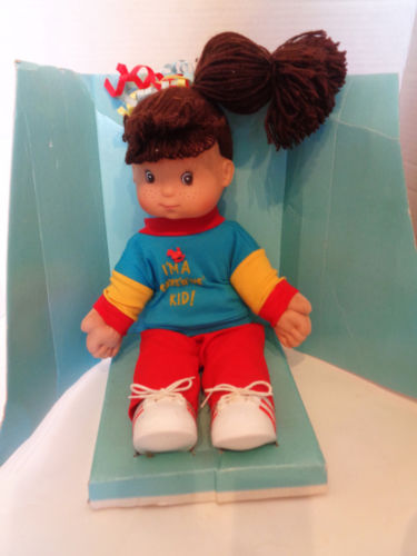 Vintage I'm A Toys 'r 'Us Kid Doll 15 1/2 Inches