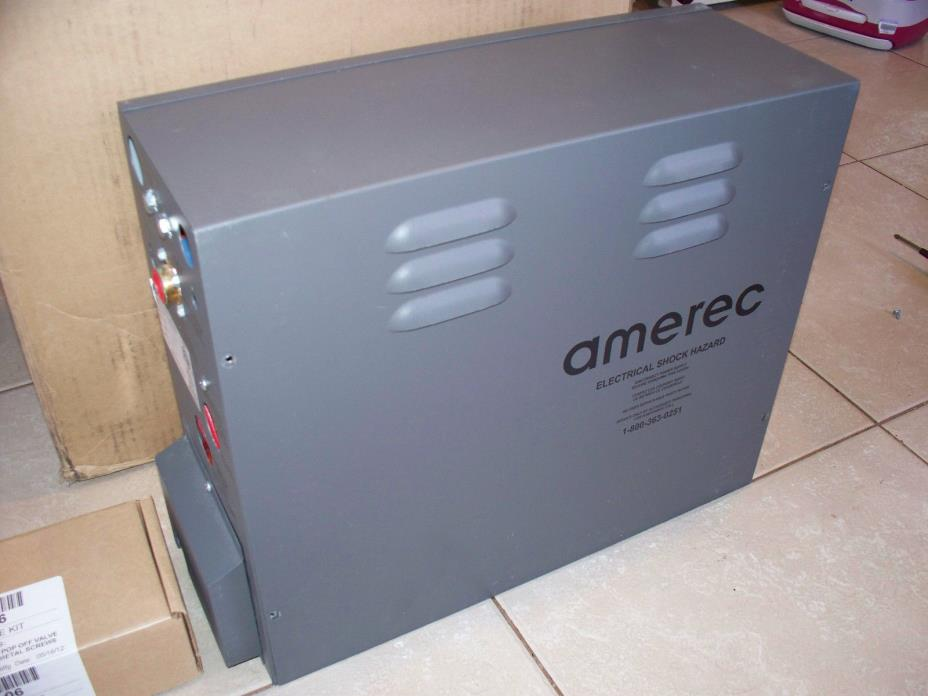 Amerec 3K8 208 VAC 3 Phase Commercial Steam Generator NEW