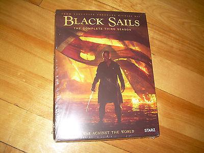 Complete Third Season 3 Three NEW BLACK SAILS (DVD, 2016) STARZ Prod.Michael Bay
