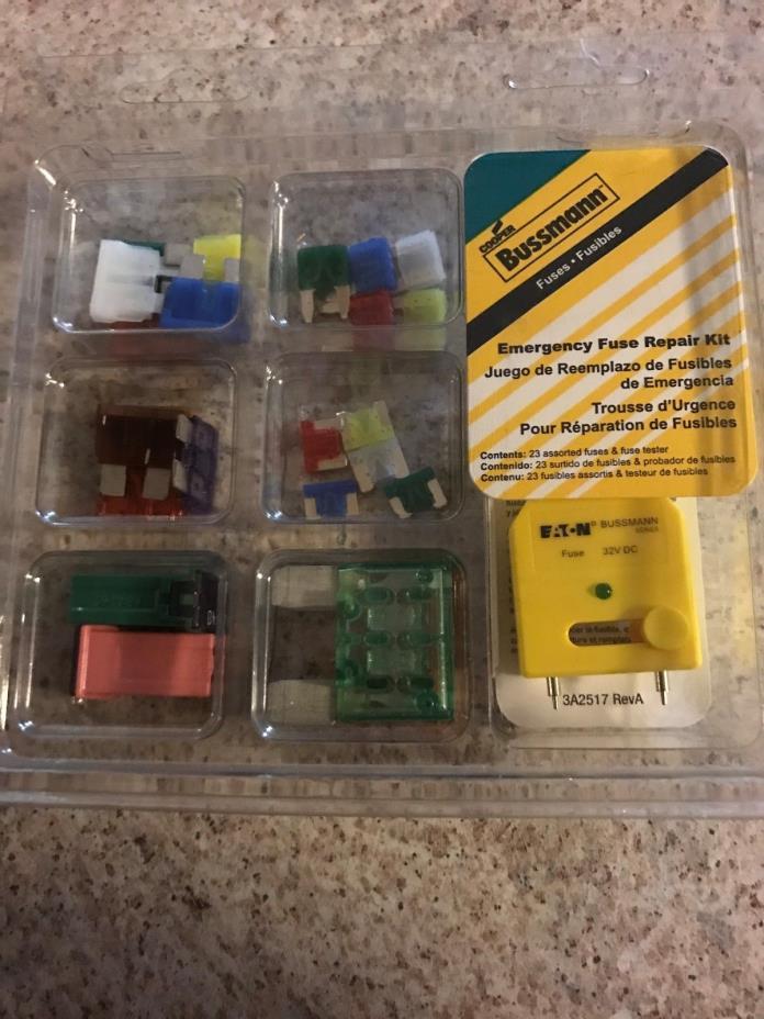 BUSSMAN Emergency Fuse Repair Kit