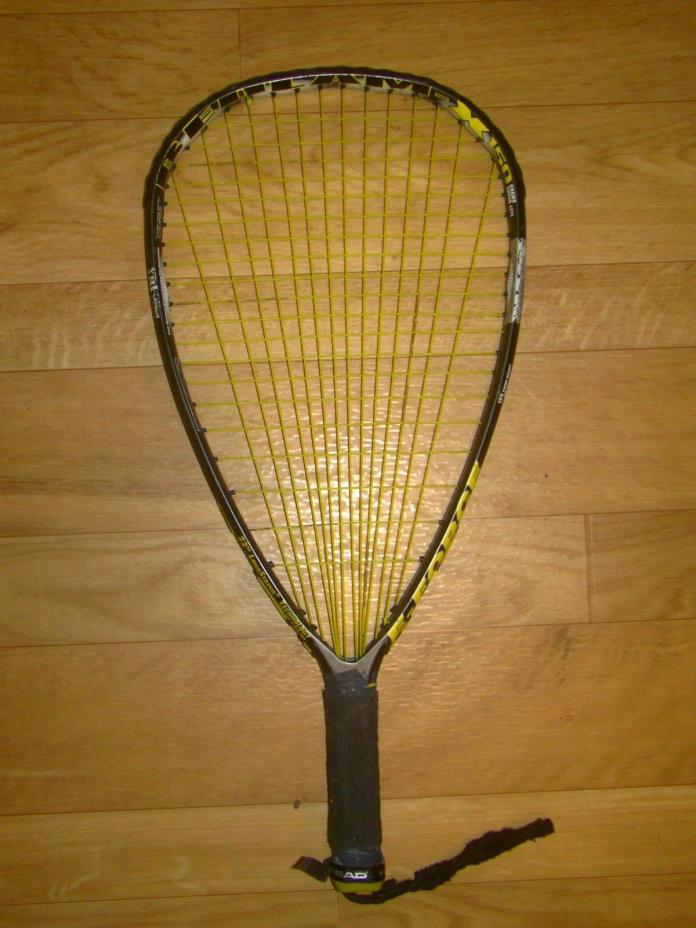 E-FORCE BEDLAM X-150 Racquetball Racquet TRI-CARBON 150g Super Lite 3 5/8 + bag!
