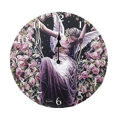 Gatekeeper Wall Clock By Sheila Wolk