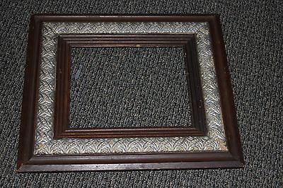 Antique Wood Frame Gesso