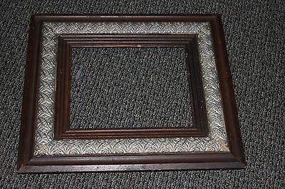 Antique Wood Frame Gesso