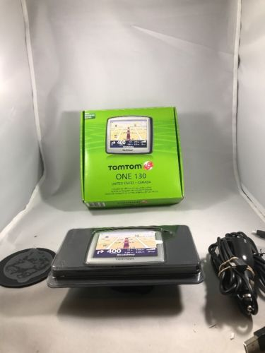 TOMTOM ONE 130 Complete Portable GPS Car Navigation United States Canada!!