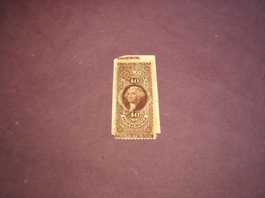 US Stamp Back of Book Scott# R53 Inland Exchange 1862-71 C222