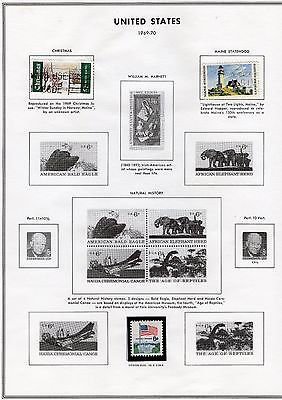 United States Stamps 1970 - 1974