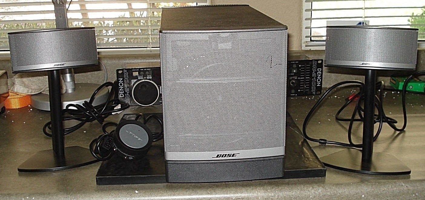Bose Companion 5 Multimedia Speaker System Excellent Condition Really Nice
