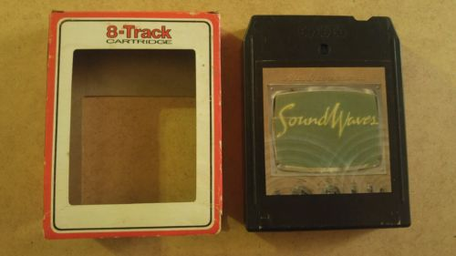 Soundwaves by Soundwaves 8 track tape tested w/ sleeve MB