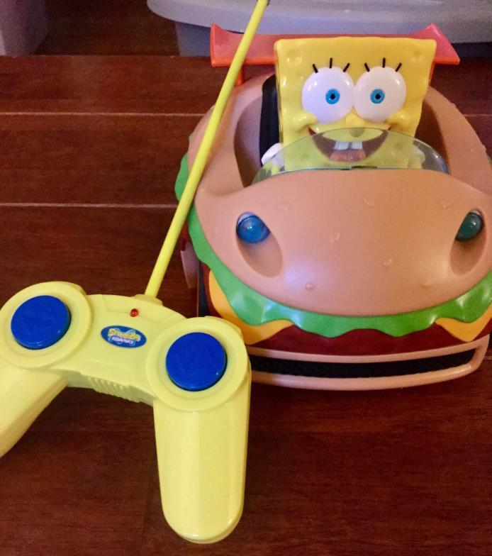 Nickelodeon Spongebob Squarepants R/C Car - Krabby Patty