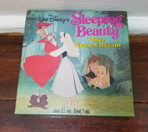Super 8mm Film Disney Sleeping Beauty Once Upon Dream Prince Dragon