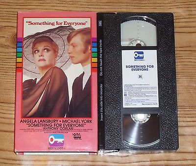 Something for Everyone (1970, VHS) Angela Lansbury, Michael York, OOP RARE