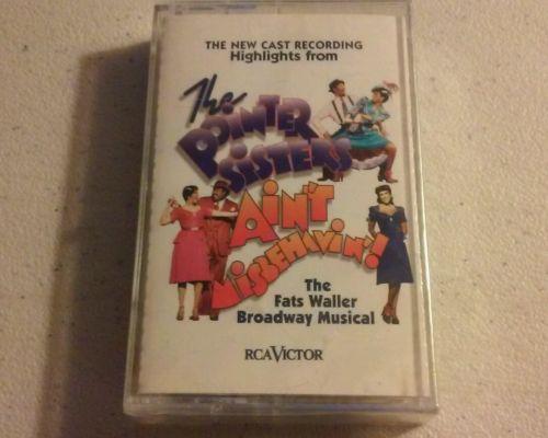 The Pointer Sisters - Ain't Misbehavin'!  -NEW SEALED- cassette tape