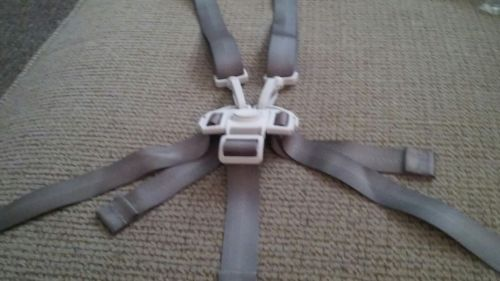 CHILDS HIGH CHAIR RESTRAINT SYSTEM STRAPS NEW WITH DIRECTIONS
