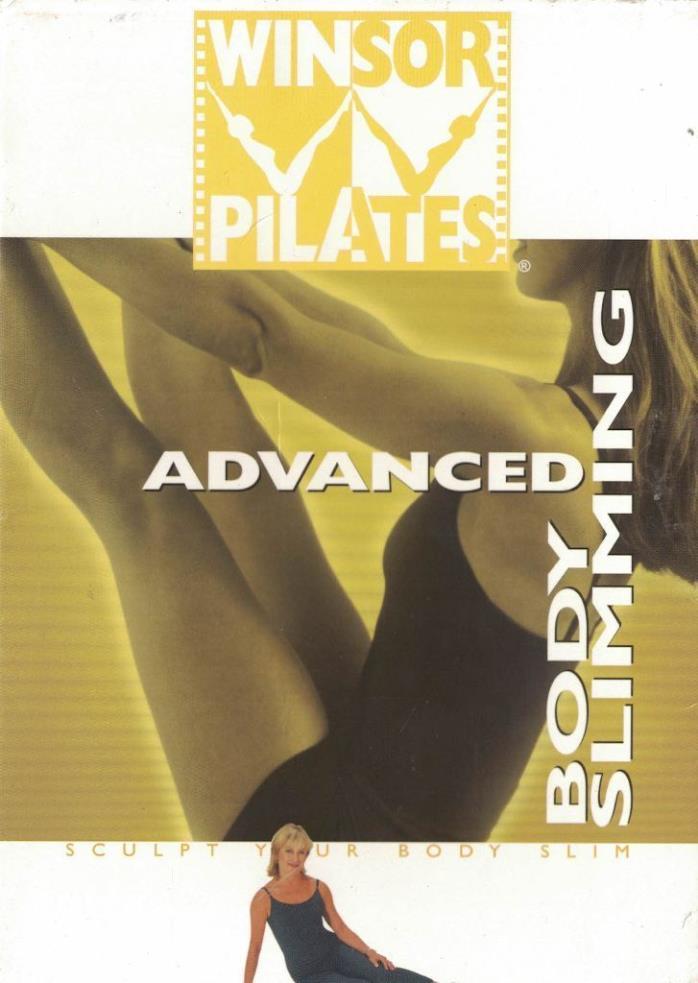Winsor Pilates Advanced Body Slimming DVD Sculpt Your Body Slim Guthy Renker