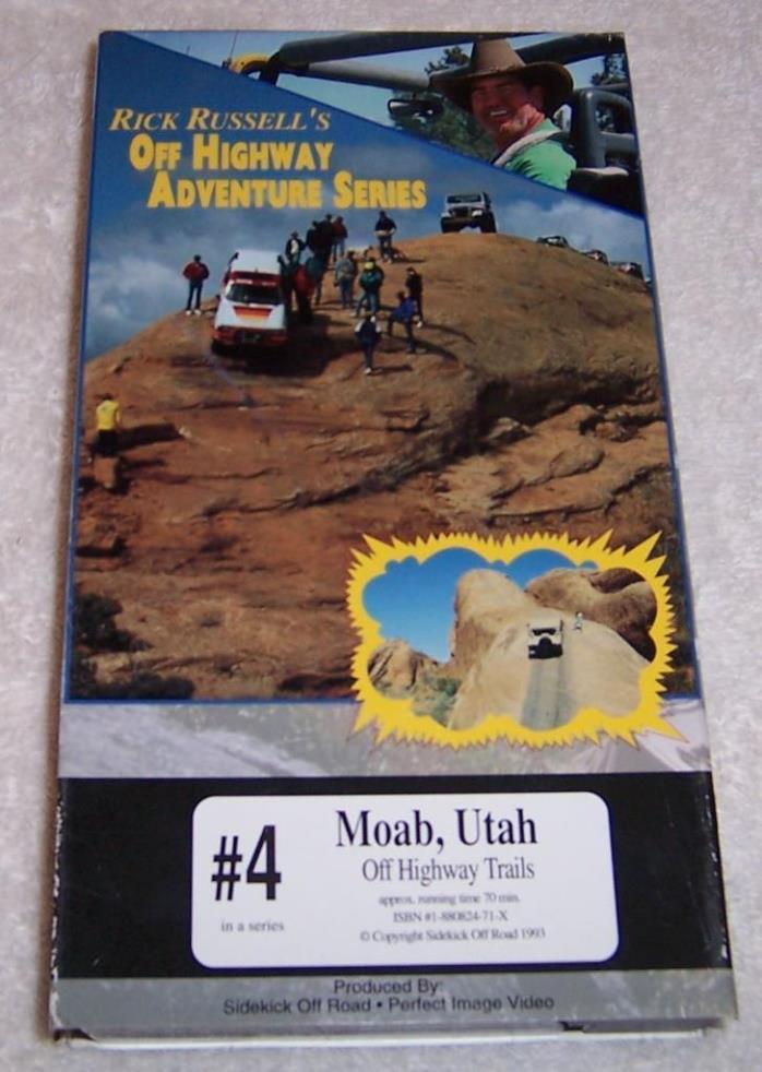 Rick Russell's Off Highway Adventure Series, #4 Moab, Utah 4 wheeling trails VHS