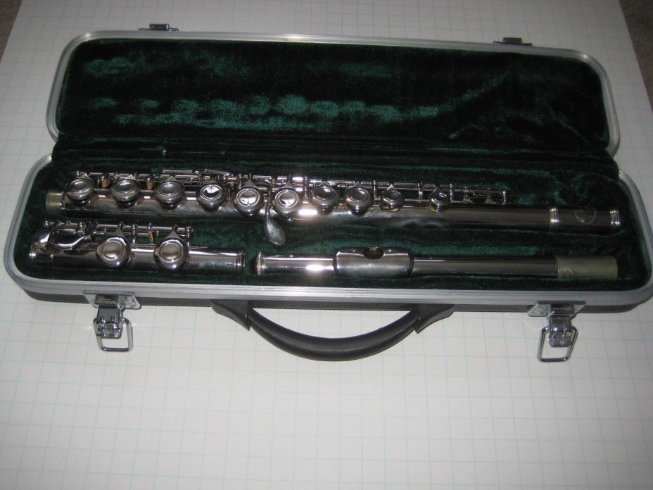 FLUTE MUSICAL INSTRUMENT BY SKY USA HARD CASE