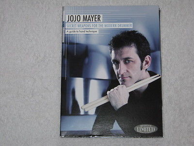 JOJO MAYER Secret weapons for the modern drummer