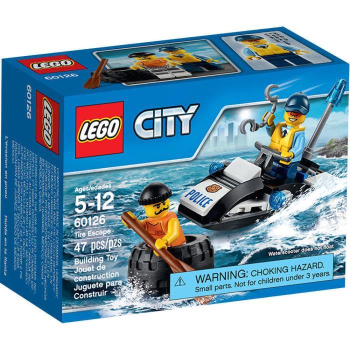LEGO City 60126 Tire Escape Set New/Sealed!! 47pcs