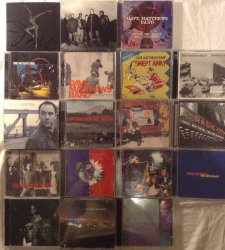 Dave Mathews Band 18 Cd Lot Renolds/Swept Away/Central Park/Radio City/Chicago