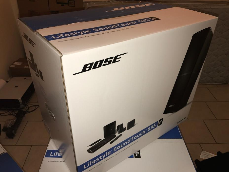 Bose Lifestyle SoundTouch 535 BRAND NEW!