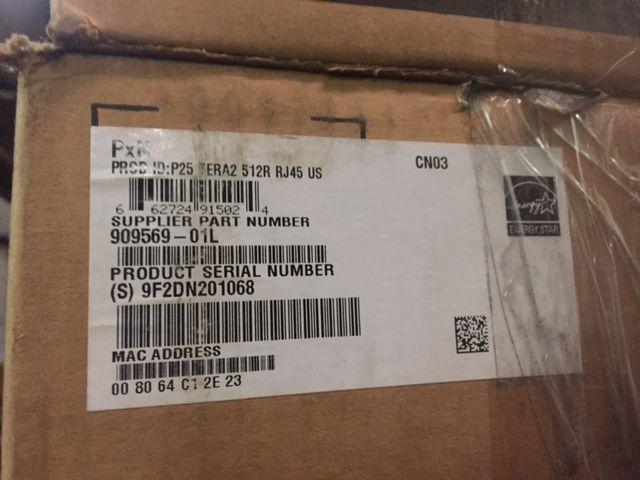 Dell Wyse P25 Zero client - Tera2321 - 512 MB RAM - 32 MB Flash 909569-01L (NEW)