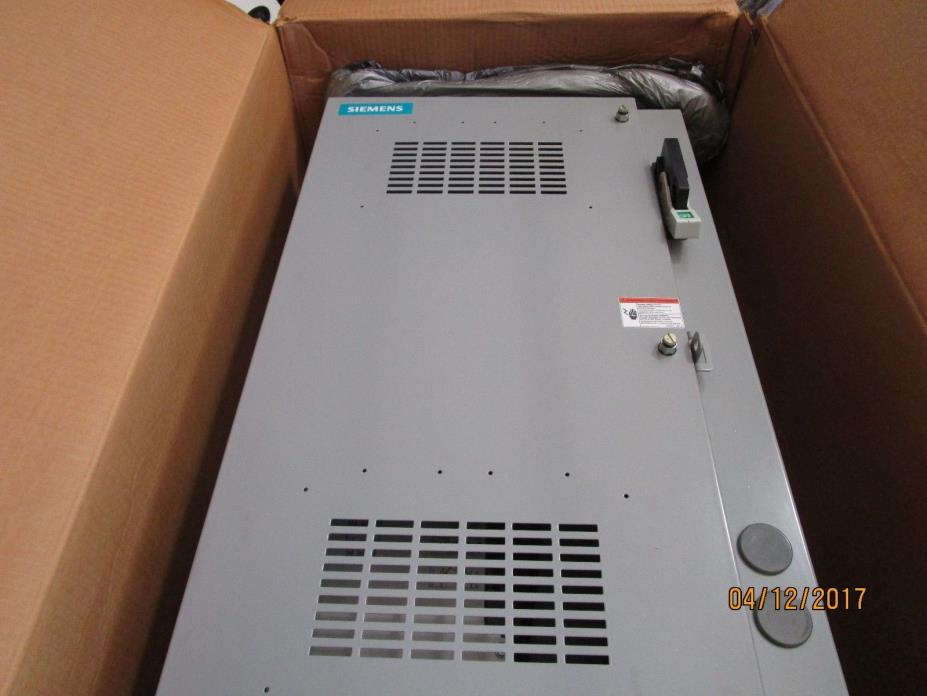 Siemens 3RW34 SIKOSTART w/ 100Amp Breaker Mounted in Enclosure **NIB**