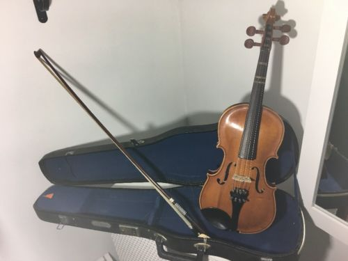 Maple Leaf Vintage Violin w/ Case and Bow Wei Yin Musical Co. 106 3/4