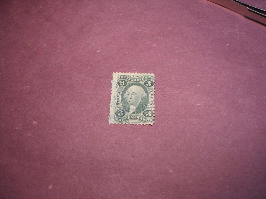 US Stamp Back of Book Scott# R16  Foreign Exchange 1862-71 C222