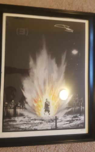 Eminem Autographed Giclee Print Limited Edition