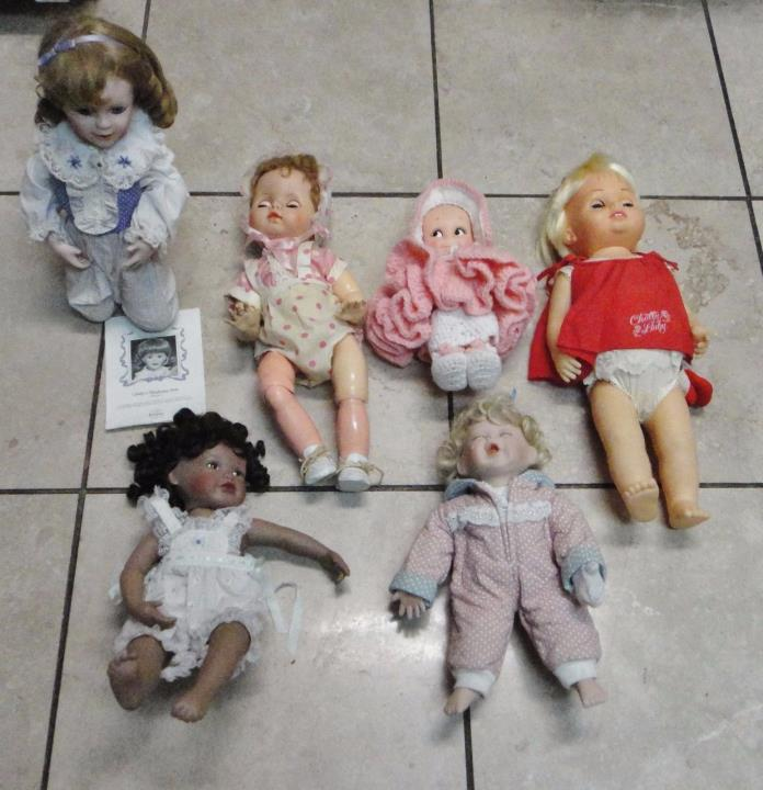 Vintage Lovely Dolls collectible 6 Dolls CHEAP