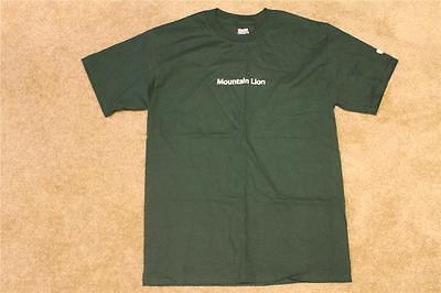 New Apple Mountain Lion Logo T-Shirt (XXXL)
