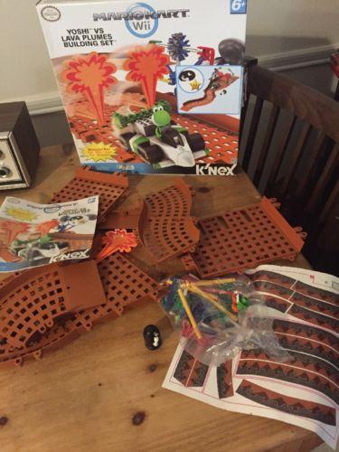 H2c Knex Mario Kart Wii Building Set 38466: Yoshi vs Lava Plumes For Parts