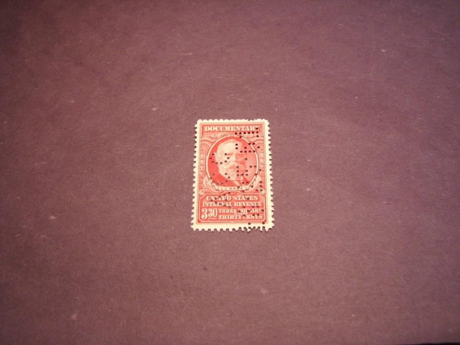 US Stamp Back of Book Scott# R674 Gage 1954 C222