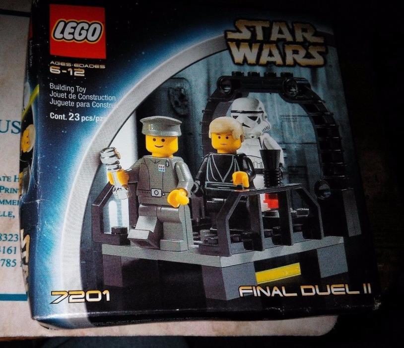LEGO STAR WARS FINAL DUEL 2 7201 SEALED Unopened