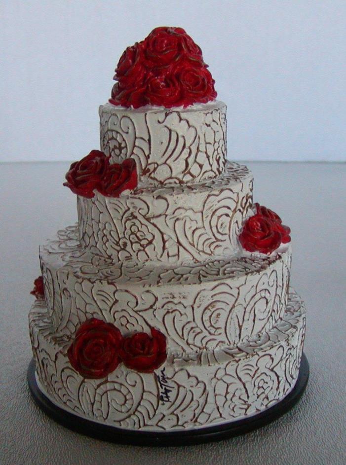 TONNER WILDE IMAGINATION WEDDING CAKE 4 EVANGELINE GHASTLY DOLL SIGNED