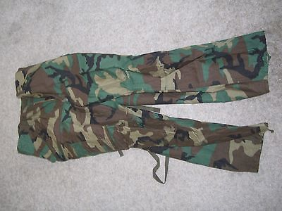 U.S. Military Woodland Camouflage Cold Weather Pants
