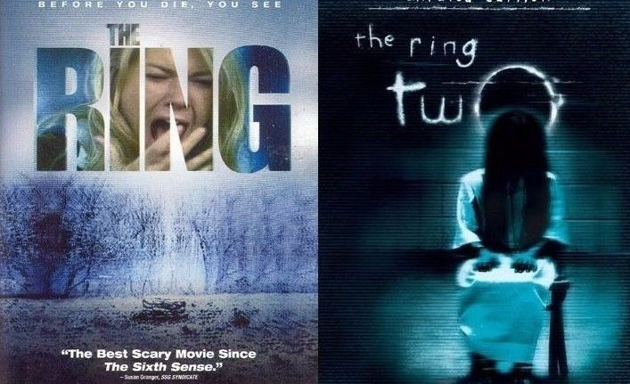 The Ring & The Ring Two [DOUBLE FEATURE] DVD + DIGITAL HD UV Ultraviolet Code