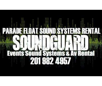 2017 Parade Float Audio Equipment Rental Call [phone removed] Cell or Text