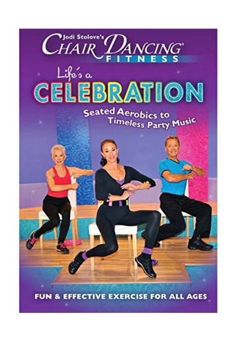 Jodi Stolove's Chair Dancing Fitness: Life's A Celebration DVD