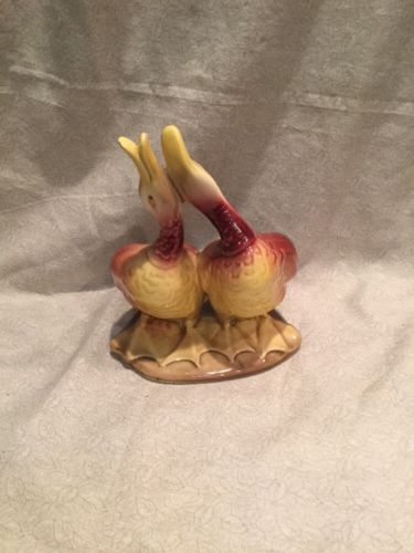 Vintage Hull Pottery -Duck-Ducks-Planter 95 Signed
