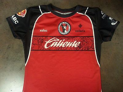 Mexico Xolos Tijuana Women Mujer Soccer Jersey Futbol Shirt One Size Chest 16